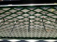 粉末喷涂铝拉网板装饰