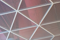 小孔铝拉网板吊顶