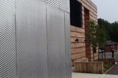 外立面铝网幕墙