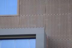 外立面铝拉网板幕墙