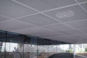 铝拉网吊顶-铝网装饰-铝拉网板厂家