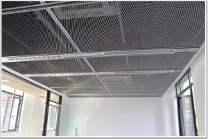 拉伸网吊顶-铝拉网板-拉网铝网