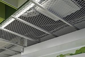 拉网板吊顶-铝拉网-铝板网
