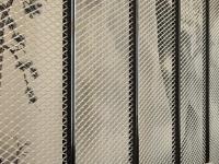 铝拉网-铝网装饰-铝拉网板屏风