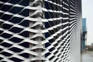 铝扩张网幕墙-铝拉伸网-铝拉网板