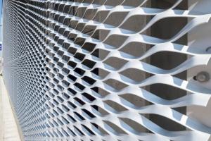 铝拉伸网-铝网幕墙-铝扩张网