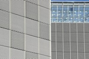 铝拉网幕墙-拉网铝板幕墙-铝板网幕墙