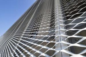 铝网幕墙-幕墙铝拉网板-铝扩张网