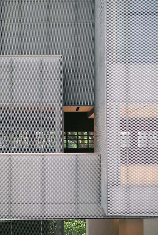 拉伸网幕墙