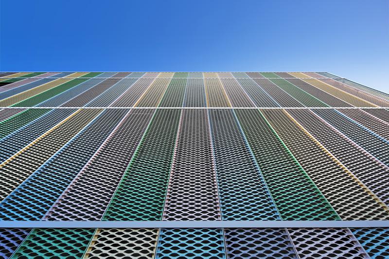 铝网装饰幕墙立面