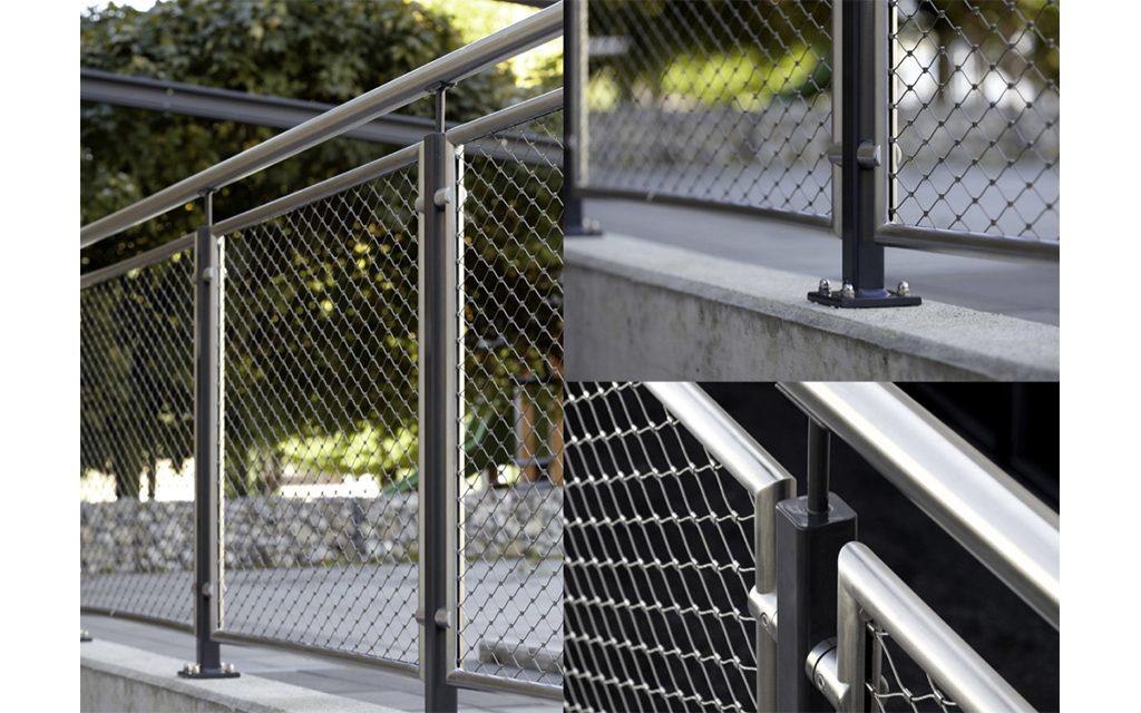 拉伸网护栏装饰图