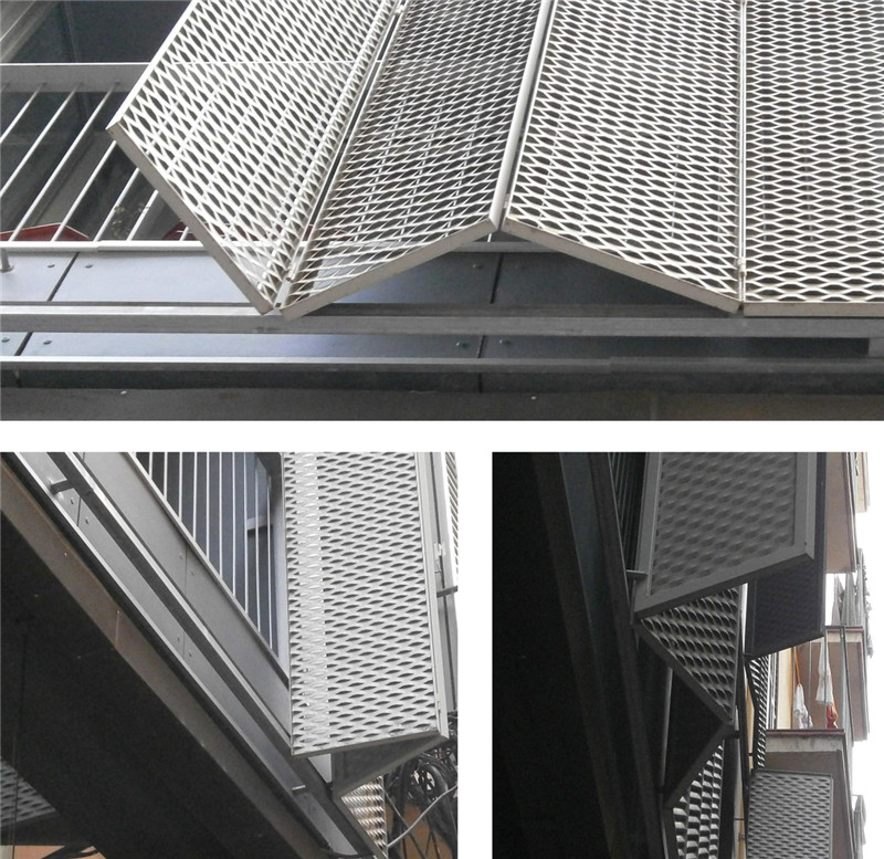 铝网拉伸网百叶窗