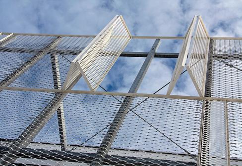 金属拉伸网外墙