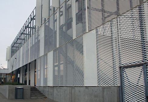 金属拉伸网幕墙