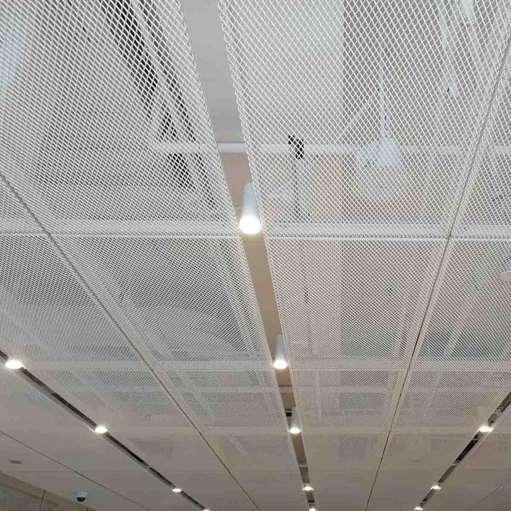 铝网拉伸网吊顶