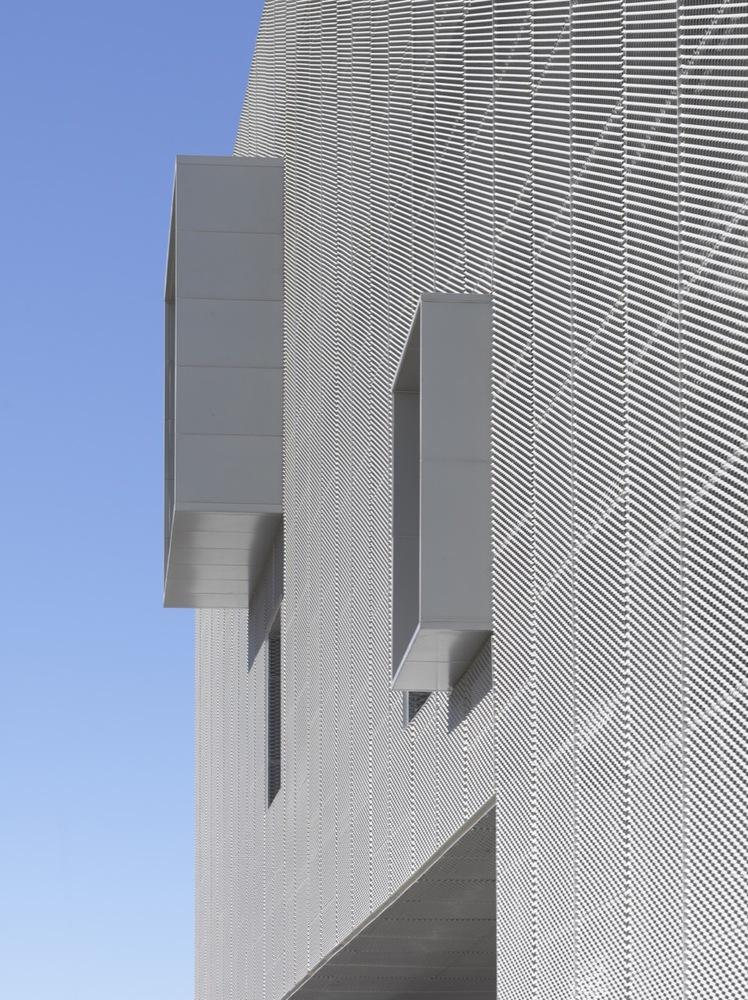 铝拉伸网幕墙