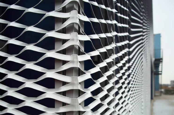 铝拉网幕墙